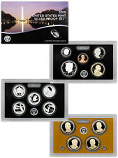 2015 United States US Mint 14 Pc Silver Proof Set (SW2) SKU36156