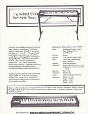 VINTAGE AD SHEET #3144 - ROLAND EP-10 ELECTRIC PIANO