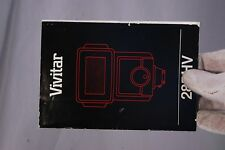 Vivitar Flash 285 HV Owner's Guide (EN) 7212013