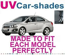 Chevrolet Aveo/Sonic 5 Door 2012On UV CAR SHADES WINDOW SUN BLINDS PRIVACY GLASS