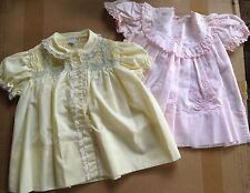 Vintage Hand Smocked / Embroidered Dresses - Precious! 12-18 months 1 by Cherubs