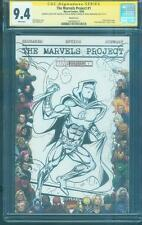 Moon Knight 1 CGC 9.4 SS De La Rosa Marvels Pro Original art Sketch no 8 TV Show