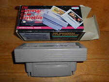 Universal Game Converter Adapter OVP/CIB Import SNES Super Nintendo JAP NTSC US