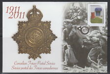 CANADA #S86 Canadian Forces Postal Service 1911-2011 Special Event Cover