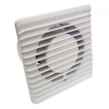 """Silent Bathroom Extractor Fan Ducting Size 100mm 4"""" Low Energy Consumption P100S"""