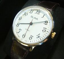 SLAVA NEW zustand/condition HAU USSR mens watch Poljot Wostok Raketa Sekunda