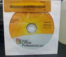 MICROSOFT OFFICE PROFESSIONAL 2007 FULL VERSION - FAST SHIPPING!