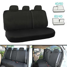 60 40 Split Bench Seat Cover for Auto Car SUV 6pc Cloth Comfort Protection