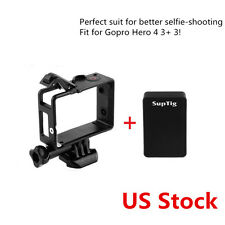 LCD Screen BacPac Converter Box Adapter Backpack Frame Mount f Gopro Hero 4 3+ 3