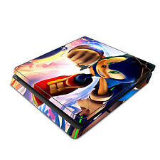 Skin Decal Cover Sticker for Sony PS4 Slim - Sonic the Hedgehog