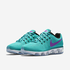 NEW WOMENS NIKE AIR MAX TAILWIND 8 GREEN PURPLE ATHLETIC RUNNING SHOES Size 8