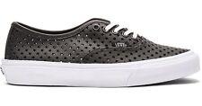 Vans AUTHENTIC SLIM PERF STARS BLACK Skate Shoes MENS 8 WOMENS 9.5 CLASSICS NIB