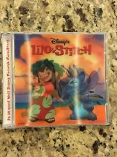Lilo & Stitch Cd Soundtrack Limited Edition Lenticular Cover /30000 Disney Store