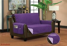 Reversible Furniture Pet Protector With Side Pockets ~ Sofa ~ Loveseat ~Chair ~