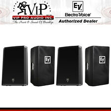 "Electro-Voice EV ZLX-15P + ZLX-15CVR 15"" 2-Way Active DJ/PA Loud-Speaker, (PAIR)"