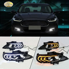 Sncn LED daytime running light DRL Fog lamp for Ford Mondeo Fusion 2013-2016
