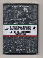 Dvd STORIA DEGLI ITALIANI 8 La fine del conflitto 28 aprile 1945 ISTITUTO LUCE