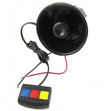 Latest Universal 3 Tone Car Security Alarm Loud Siren Horn 12V DC