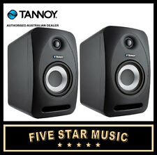 "TANNOY REVEAL 802 ACTIVE STUDIO MONITOR PAIR 8"" NEW AUSTRALIAN POWER REVEAL802"