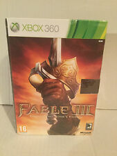 Xbox 360 fable 3 iii limited collectors edition collector brand new boxed pal