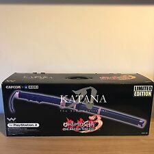 Onimusha Katana The Soul Controller Limited Edition Capcom Hori Boxed PS2 Rare