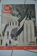 Point de Vue Images du Monde 180 du 15/11/1951.11 Novembre souvenir,ceux de 1914