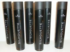 Schwarzkopf Silhouette 'Super Hold' Hair Spray Large Size (6 x 750ml)