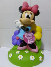 DISNEY MINNIE MOUSE 10 INCHES MOLDED COIN PIGGY SAVING BANK KID MUST L@@K