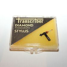 Transcribe #117 Diamond Phonograph Stylus Needle - Tetrad 63D