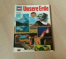 Was ist was - Buch - Band 1 - Unsere Erde