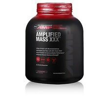 GNC Pro Performance AMP Amplified Mass XXX - Strawberry 6 lbs.