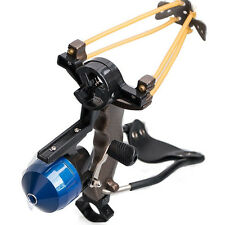 Fishing Slingshot Target Shooting Catapult Ammo Ball Sling Bow Reel Pro Hunting