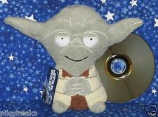 Star Wars Yoda Larger Footzeez Plush Stuffed Doll by Comic Images New with Tags