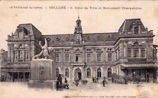 BOLLENE 3 hôtel de ville et monument charpentier vélo éd lang écrite 1915