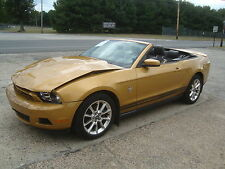 2010 Ford Mustang V6 Convertible NAVI Salvage Rebuildable Repairable