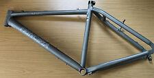 """Beautiful Rare Principia Handmade Mountain Bike Frame Anodised 18"""" Mac B 1995"""