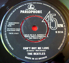 "The Beatles Can't Buy Me Love 7""UK ORIG 1964 Parlophone R 5114 You Can't Do That"