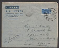 South Africa 1945 (May 9) Air Letter to South Africa from serviceman in Italy