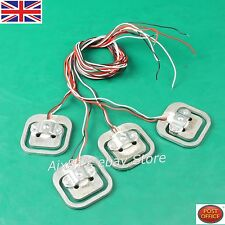 4 pcs x Body Load Cell Weighing Sensor Resistance strain Half-bridge Total 200kg