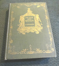 1911 J.M. BARRIE PETER AND WENDY 1st Ed Scribner's PAN hb hc F.D. Bedford illus