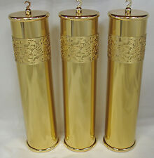 New Ornate Laser Cut Hermle/Kieninger Grandfather Clock Weight Shell Set (WS13)