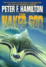 The Naked God Pt. 1 : Flight by Peter F. Hamilton (2000, Hardcover)