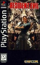 Resident Evil 1 w/MANUAL GREAT Sony Playstation PS1 LONG BOX