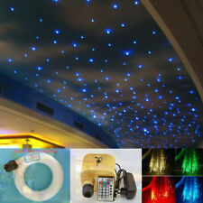 16W RGBW Twinkle LED Fiber Optic Star Ceiling Lights Kit 350pcs 0.75mm *2m