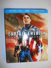 Captain America The First Avenger (Blu-ray/DVD, 2011) Best Buy W/Slipcover