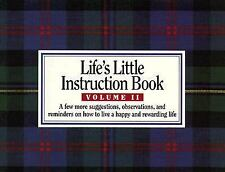 Life's Little Instruction Book, Volume II - H. Jackson Brown Jr. - Paperback