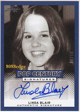 "2013 LEAF POP CENTURY AUTO: LINDA BLAIR #8/10 AUTOGRAPH PLAYBOY ""THE EXORCIST"""