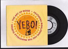 "THE ART OF NOISE  ""YEBO "" THE MAHOTELLA QUEENS & MAHLATHINI . Vinyle 45 rpm 1989"