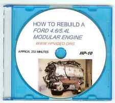 "How to Rebuild a Ford Mustang F150 4.6 5.4L Modular Motor Engine. Video ""DVD"""