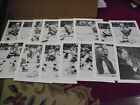 Pgh Penguins, 1976/77, Open Pantry Photo Set of 15, Scarce, 8 x 10, B & W, Clean